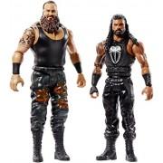 WWE Figure Series # 54 Braun Strowman & Roman Reigns Action Figures, 2 Pack