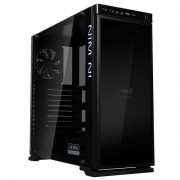 Chassis In Win 805i Infinity Mid Tower Aluminium, Tempered Glass,RGB LED,ATX,Micro-ATX,Mini-ITX, Front Ports 2xUSB 2.0 1xUSB 3.0 1xUSB 3.1 HD Audio,476x205x472.5mm, 2x120/140 Front Fan/280 Radiator/1x120 Rear Fan(installed)/2x120 Bottom, Black/RGB