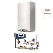 Produs cadou la Pachet centrala termica in condensare Ariston CARES PREMIUM 24 EU 24 KW + pachet pentru instalare centrala termica murala