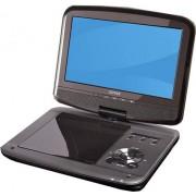 """Denver MT-980T2H Portable DVD player Convertibile 9"""" Nero"""