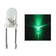 NTR 6003 3mm LED kékeszöld 3V 20mA 30fok
