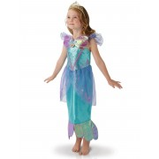 Disney Disfarce Disney Ariel menina - 7 - 8 anos (117/128 cm)