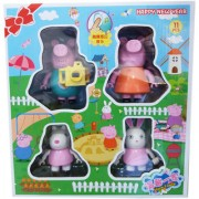 Peppa Pig Warm Family Figuers Set
