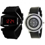 Combo Of 2 Watches For Mens And Womens