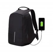 Multi - Funcion De Gran Capacidad De Seguridad Anti - Robo De Viajes Casual Mochila Laptop Computer Bag Con Externo USB Interfaz De Carga Para Los Hombres / Mujeres, Tamaño: 42 X 25 X 23 Cm (negro)