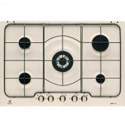Electrolux Rex/electrolux Rgg7253oon Piano Cottura A Gas 75 Cm 5 Fuochi Colore Sabbia