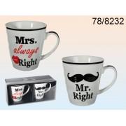 Set cani Mr. & Mrs. Always Right