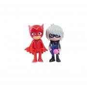 Figura Articulada Owlette and Luna Girl Pjmasks