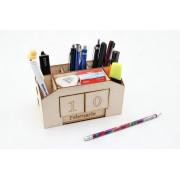 Kit suport pixuri cu calendar din lemn