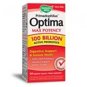 Примадофилус Оптима Max Potency 100 млрд. активни пробиотици Nature's Way 30 капсули