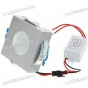 3W 170-lumen 3500K blanco calido lampara de techo LED / luz hacia abajo con controlador LED (AC 86 ~ 265V)