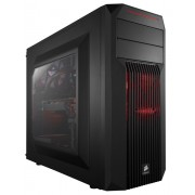 Carcasa Mid Tower Corsair SPEC-02 Red LED (Negru)