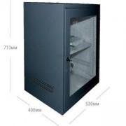 Сървърен рак 15U 530x400, SPCC Студена валцована стомана, Черен, JZ-VC6415