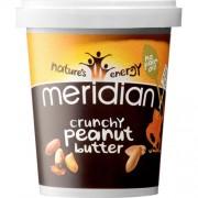 BIO + Natural Peanut Butter Crunchy 100% 454 g