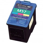 recycled / rebuilt by iColor Recycled Cartridge für HP (ersetzt C6657AE No.57), color HC 24ml