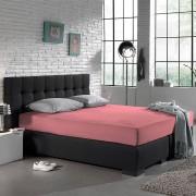 Home Care Jersey Hoeslaken - Home Care Roze - Roze - Size: 180 x 200