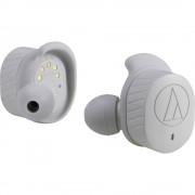 Audio Technica ATH-SPORT7TW Bluetooth® sportske in ear slušalice u ušima kontrola glasnoće, otporne na znojenje, kontrola na