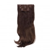 Rapunzel® Extensions Sintetiche Kit Clip-on Synthetic 5 pezzi Beach Wave 2.2 Coffee Brown 50 cm
