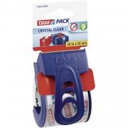 Tesa 2x Tesa mini verpakkingstaperoller roldispenser incl. tape verpakkingsbenodigdheden - Tape (klussen)
