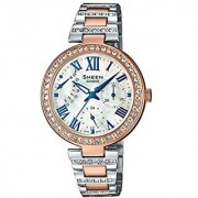 Casio Sheen Analog Mother Of Pearl Dial Womens Watch-SHE-3043SPG-7AUDR (SH196)