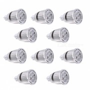 YWXLight 10Pcs MR16 7W SMD 3030 Proyectores LED Cool White AC / DC 12V