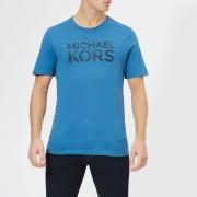Michael Kors Men's Camo T-Shirt - Ocean - XXL - Blue