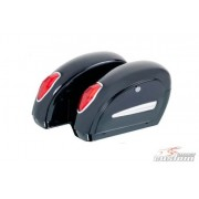 Rigid Saddlebags Side Opening Small Model Black