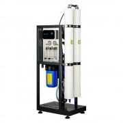 """Osmoza inversa comerciala, FILTRO RO 450L, controler, 2 membrane 40"""", prefiltrare si pompa inclusa"""