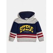 Guess Bluza Z Logo I Kontrastującymi Pasami