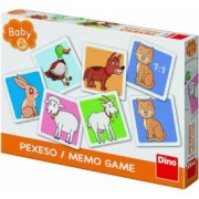 Joc de memorie Dino Toys Ferma vesela Multicolor