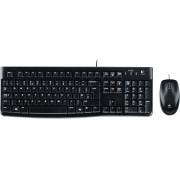 LOGITECH MK120 - Tastatur-/Maus-Kombination, USB, schwarz