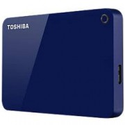 Toshiba 1 TB External Portable Hard Drive Canvio Advance USB 3.0 Blue