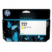 Консуматив - HP 727 130-ml Yellow Ink Cartridge - B3P21A