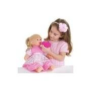 Boneca Baby Faz Xixi C-cabelo 206 Super Toys