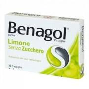 Reckitt Benckiser Benagol 16 Pastiglie Limone Senza Zucchero