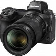 Aparat foto Mirrorless Nikon Z6, Full-Frame, 24.5 MP, 4K, Wi-Fi + Obiectiv 24-70mm f/4 (Negru) + Card de memorie Sony XQD, 64GB