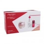 Shiseido Benefiance Anti-Wrinkle Ritual darčeková kazeta proti vráskam pre ženy denná starostlivosť na pleť Benefiance Wrinkle Smoothing Cream Enriched 50 ml + čistiaca pena Clarifying Cleansing Foam 5 ml + pleťová voda Treatment Softener Enriched 7 ml +