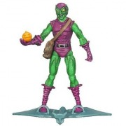 SpiderMan 2010 Series One 3 3/4 Inch Action Figure Dive Bomber Green Goblin