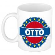 Shoppartners Voornaam Otto koffie/thee mok of beker Multi