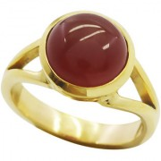 Red Onyx Gold Pleted Ring teasing Red Designer Indian gift