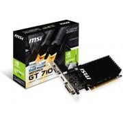 MSI Tarjeta Gráfica nVidia MSI GeForce GT710 1GB DDR3