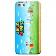 Nintendo Funda Móvil Nintendo Super Mario Mundo para iPhone y Android - iPhone 5C - Carcasa doble capa - Mate