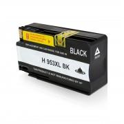 HP Cartucho de tinta para HP L0S70AE / 953XL negro compatible (marca ASC)
