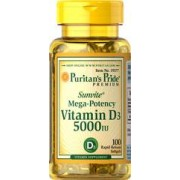 vitamine d3 5000 i.u. 100 gélules