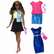 Barbie Fashionistas Doll Emoji Fun DTF02
