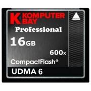 KOMPUTERBAY 16GB Professional COMPACT FLASH CARD CF 600X 90MB/s Extreme Speed UDMA 6 RAW 16 GB