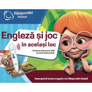 Pachet Carte + Creion Raspundel Istetel Engleza Si Joc In Acelasi Loc
