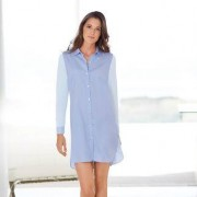 "Pluto Nightshirt ""Two in One"", 42 - Hellblau"
