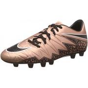 Nike Men's Hypervenom Phelon Ii Hg-E Metallic Red Bronge and Black Running Shoes - 8 UK/India (42.5 EU)(9 US)