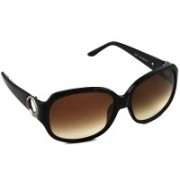 Tommy Hilfiger Over-sized Sunglasses(Brown)